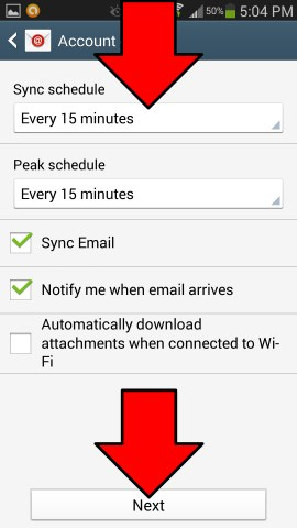 android-email-account-sync-settings